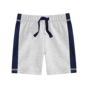 NWT First Impressions Gray Dark Blue Shorts 18mo